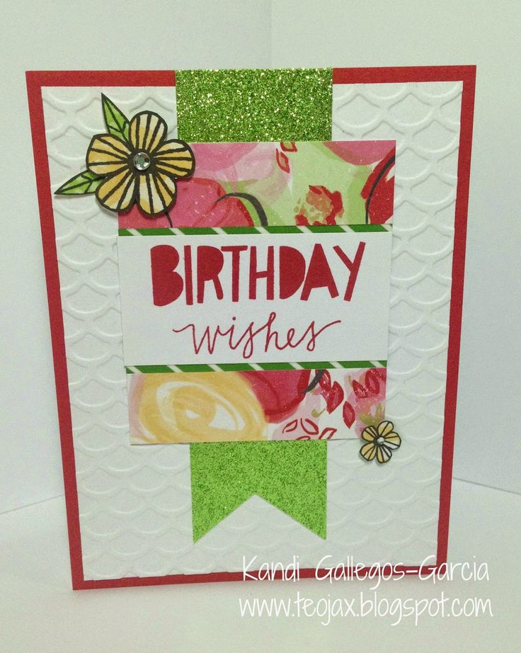 teojax: Birthday Wishes - Close to My Heart, CTMH Brushed, Lovely Birthday stamp set
