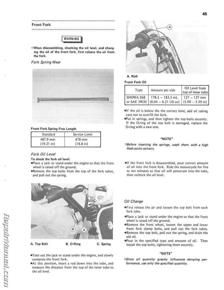 free online motorcycle repair manuals