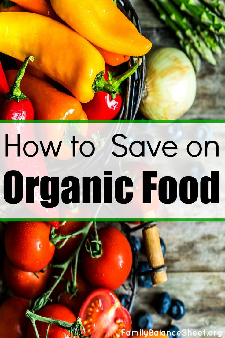 How to Save Money on Organic Food. I only want to serve my family wholesome food without the pesticides and other junk. But organic food can be out of my budget. Luckily I found these great tips and I can now afford more organic foods in our diet.