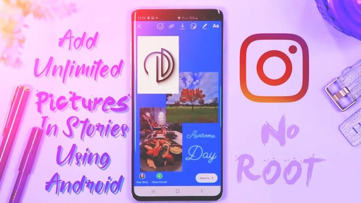 How To Copy/Paste Photos On Instagram Stories Using Android    Ig Hidden Feature 🔥   Instagram ...