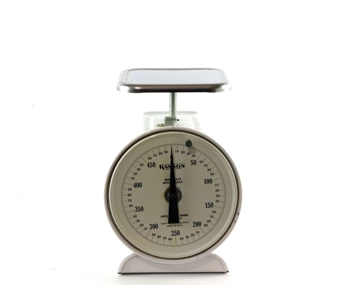 Vintage Kitchen Scale, Gram Scale, Dietetic Scale, Industrial, Mid Century by GizmoandHooHa on Etsy