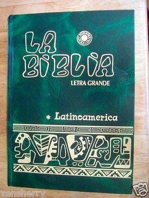 Biblia Catolica Latinoamericana (Edición Pastoral) Biblia de tamaño grande.