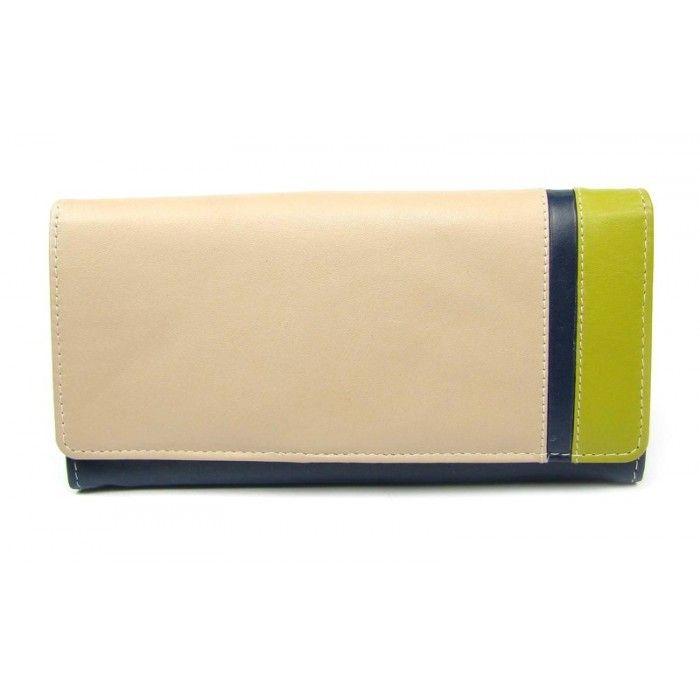 Luxusní dámská kožená peněženka - peněženky AHAL