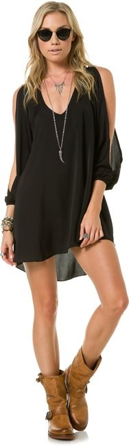 Festival wear - LOVERS + FRIENDS GRACIE BABYDOLL DRESS would be super cute with some wedges