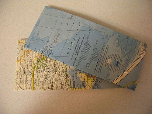 map envelopes - how to