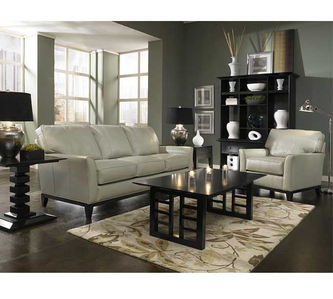 Broyhill Perspectives Sofa, Loveseat, Chair And Ottoman Fabric Grade 2  8550 87 Matching. Living Room ... Part 71