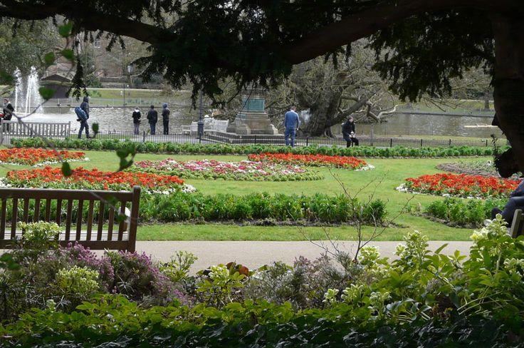 The Jephson Gardens Spring 2015