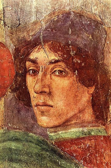 Filippino Lippi - self-portrait fresco