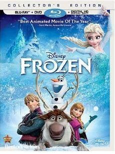 How I just got the Frozen Blue-Ray & DVD Combo Pack for FREE.  Seriously, free & then some.