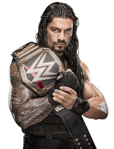 Roman Reigns WWE Champion 2016 by LunaticDesigner