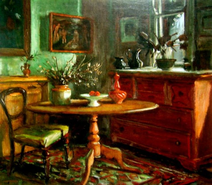 Untitled (Evening Interior) Maragaret Olley