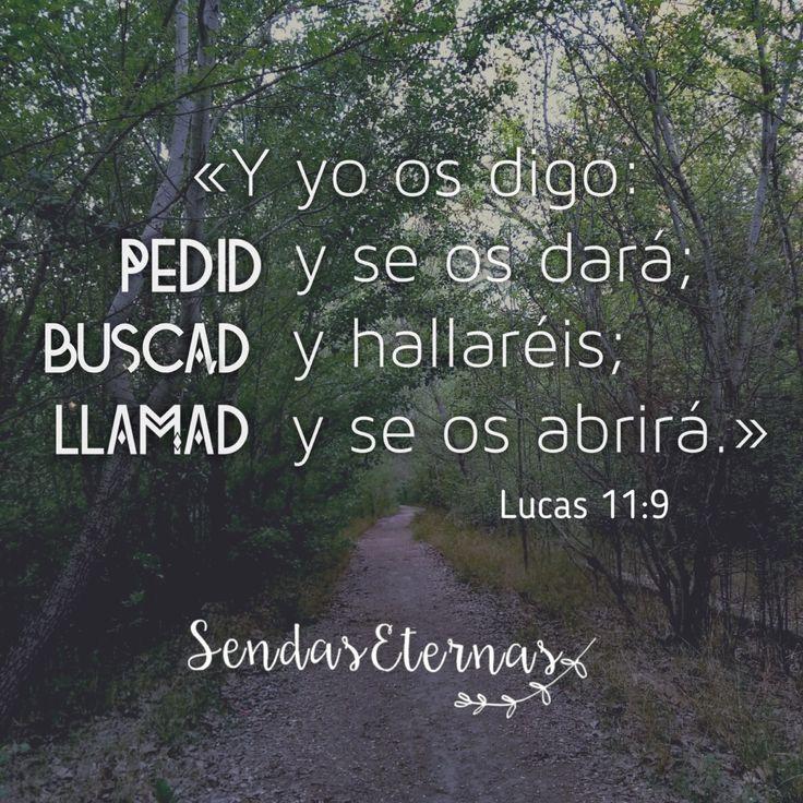 """Donde encontrar ayuda en la Palabra de Dios en caso de estar...  """"EN ORACIÓN""""  """"Y yo os digo: Pedid, y se os Dara; buscad, Y hallaréis; llamad, y se os abrirá."""" Lucas 11:9 RVR1960  https://sendaseternas.blogspot.com.es/2017/04/donde-encontrar-ayuda-en-la-palabra-de.html  #Pide #Buscar #Llama #Encontrar #HijodeDios #Jesucristo #Sendaseternas"""