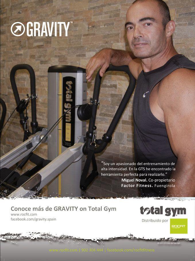 La #GTS de #TotalGym ha conseguido que Miguel Noval, Co-propietario de Factor Fitness en Fuengirola haya encontrado la herramienta perfecta para realizar entrenamientos de alta intensidad.