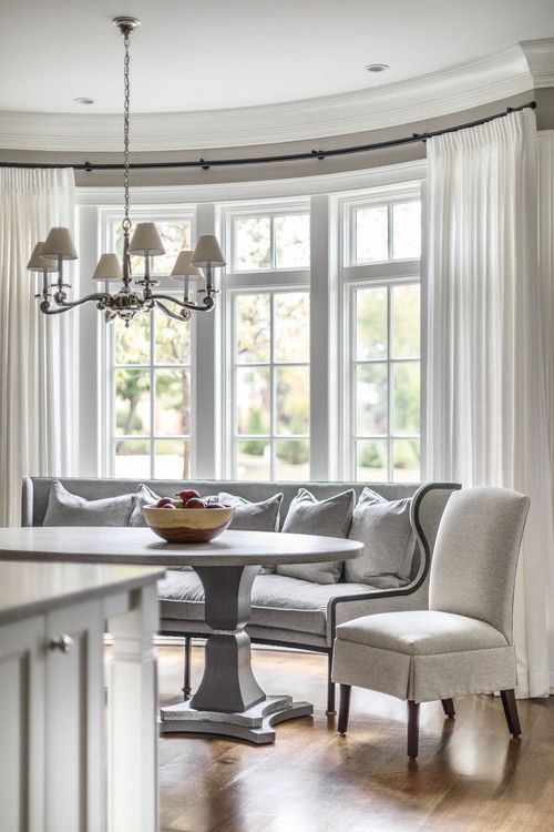 11 Best Bow Bay And Corner Window Curtains Images On Pinterest Bow Windows Corner Windows