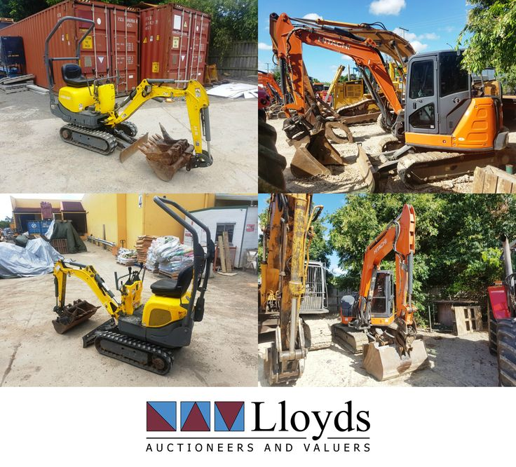 This Hitachi Excavator and Wacker Neuson Mini Excavator are both up for grabs in the Civil, Transport and Machinery Auction - ending TUESDAY at 10:00 am