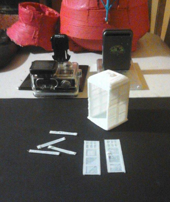 3d printed Arduino powered Dr Who Tardis