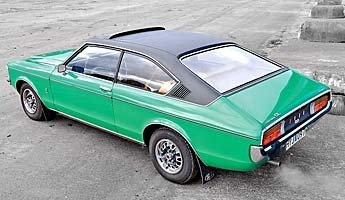 Ford Granada Mk I. Fixed head coupe 3.0 Ltr V6. Had one of these. Wish I still had it!