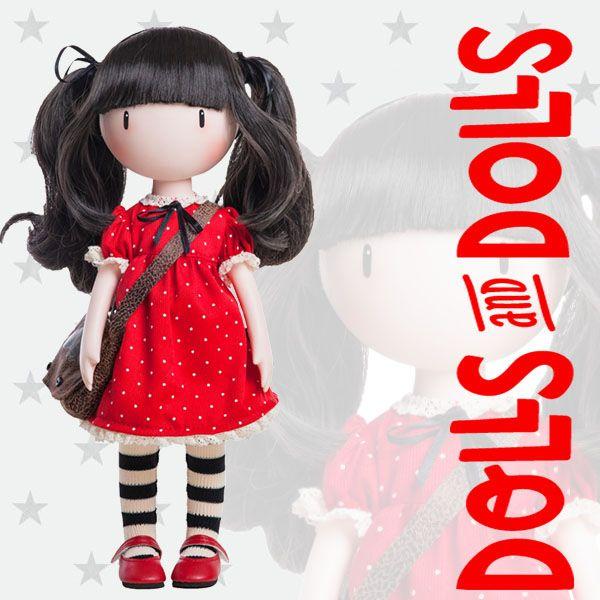 Si te gustan las #muñecas #Gorjuss de #Santoro y tu color es el rojo, Ruby es tu muñeca. Con sus dos coletas y su alegre vestido, te llenará de alegría y ternura.  ¿Ya la tienes? Si no es así, nosotros la tenemos para ti.  #Dolls #PaolaReina #MuñecasGorjuss #MuñecasSinBoca #DollsMadeInSpain #SantoroLondon #MuñecasGorjuss