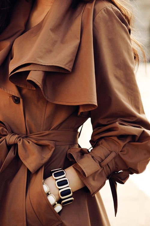 lovely trench coat - brown http://www.pinterest.com/JessicaMpins/