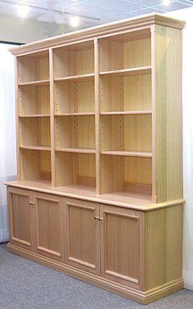 Astilla Muebles: Biblioteca De Pino Con Cajones | Ideas para, Room ...