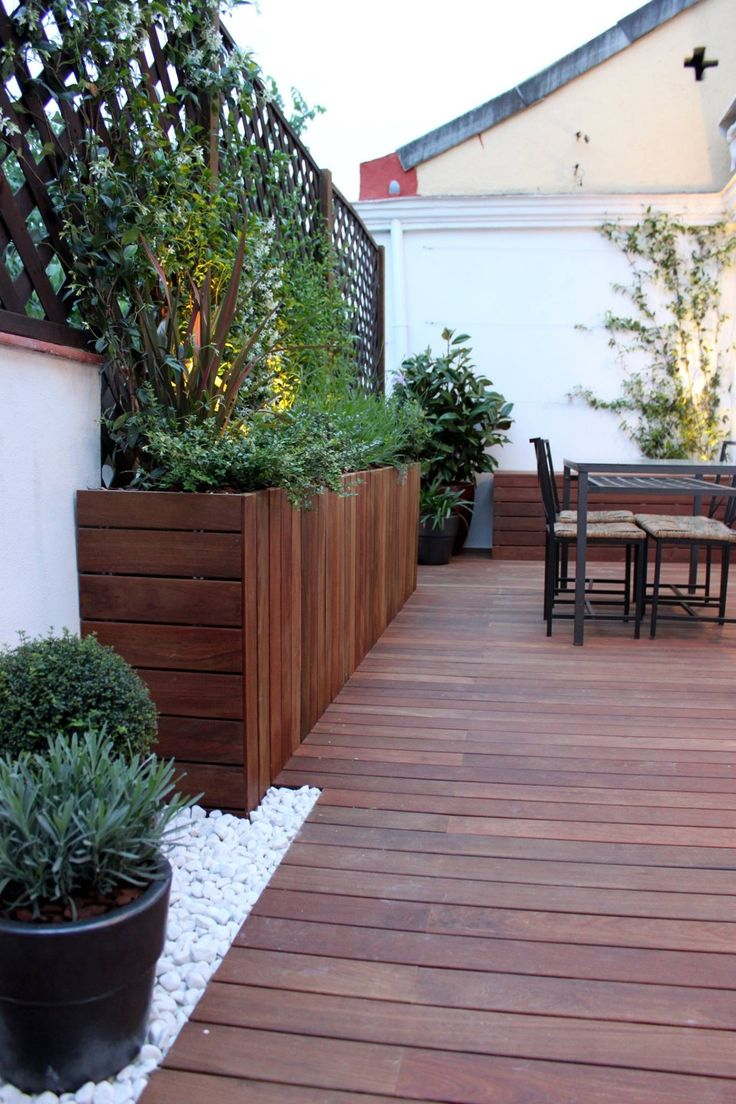 Terrazas terrazas pinterest terrazas jard n y balcones for Decoracion de terrazas de casas