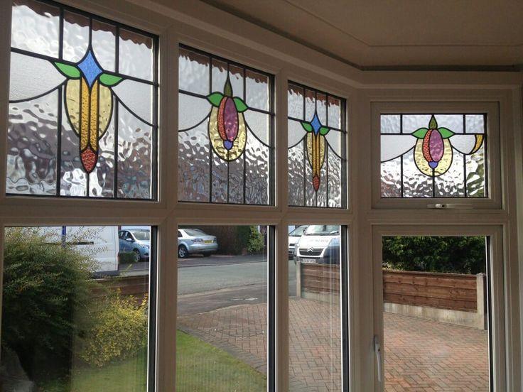 Period Stained Glass Bay Window Sale - The Window Company