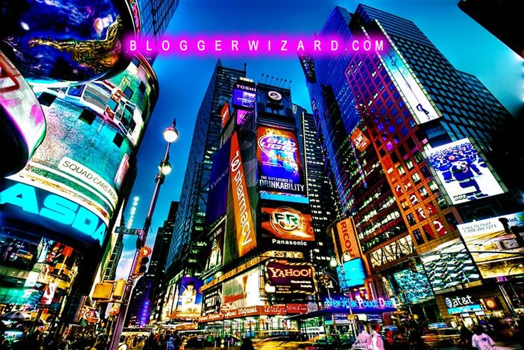 Times Square New York BloggerWizard