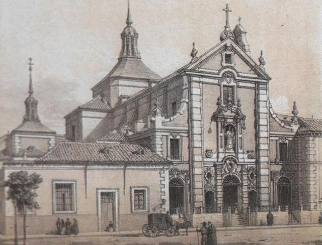 Antigua iglesia de San Hermenegildo en la calle de Alcalá.