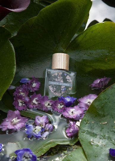 Ingrid Starnes' first fragrance