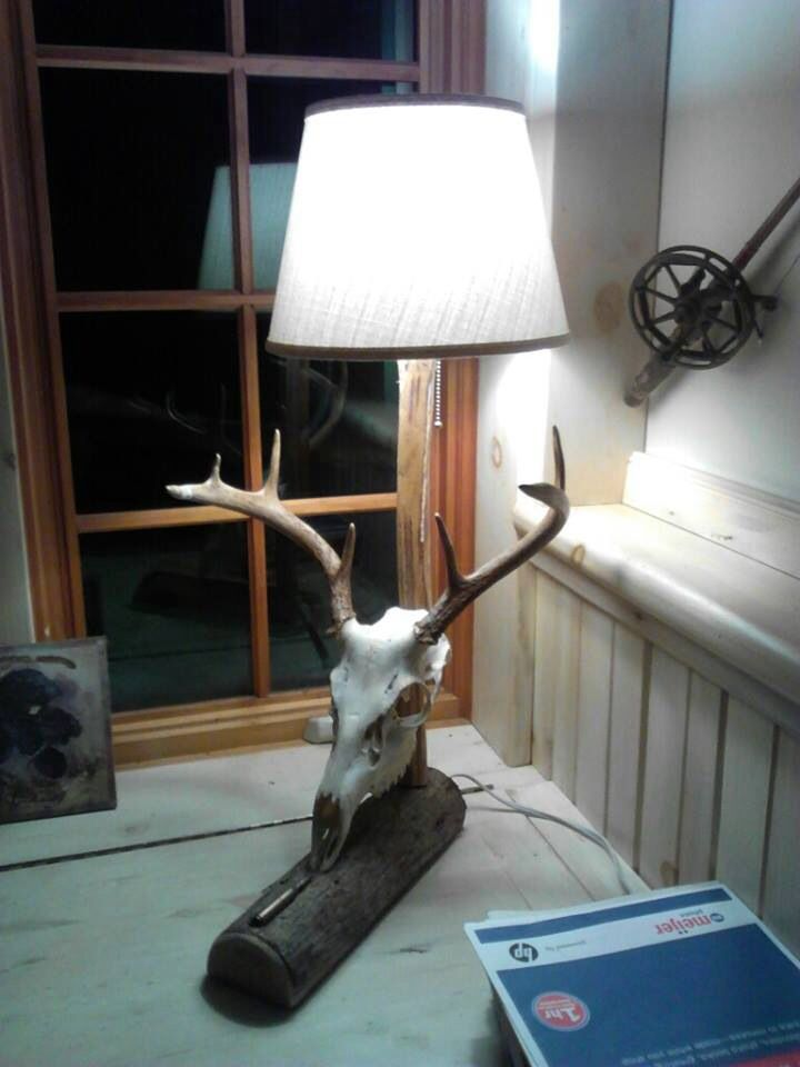 Diy Deer Skull Lamp Diy Deer Skull Lamp Deer Skulls