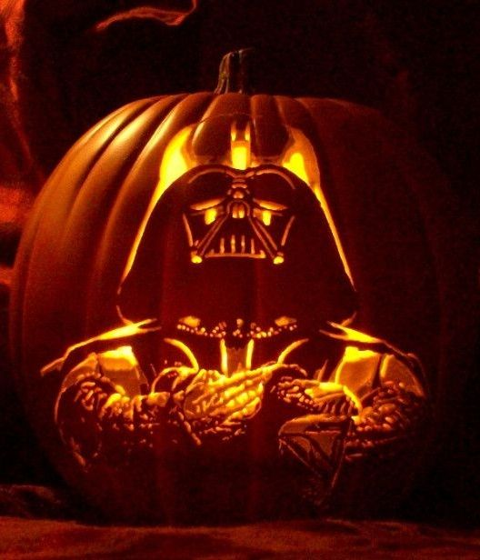 wed love to have this star wars darth vader themed jack o - Halloween Darth Vader