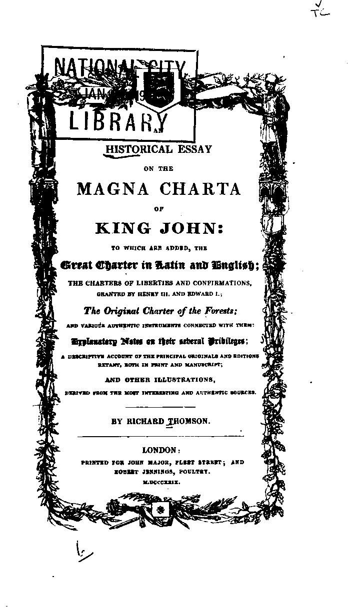 15 pin su magna charta da non perdere storia britannica enrico an historical essay on the magna charta of king john to which are added the great charter in latin and english the charters of liberties and