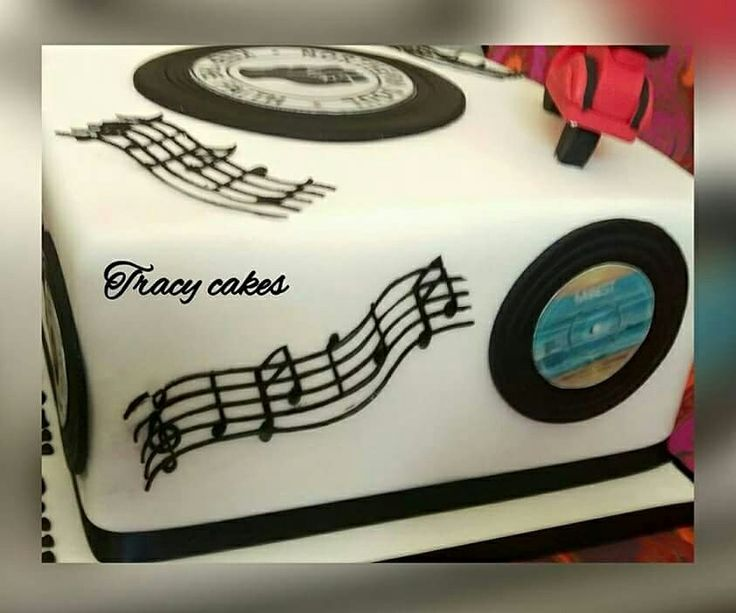 Northern Soul 50th Birthday Cake In 2019 Bithday Cake