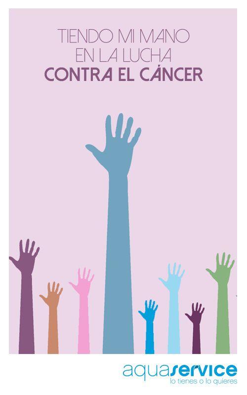 En su día mundial y siempre, nos sumamos a la lucha contra el cáncer. Repinea para demostrar a quienes más lo necesitan que... ¡Cuentan contigo! #DíaMundialcontraelCáncer