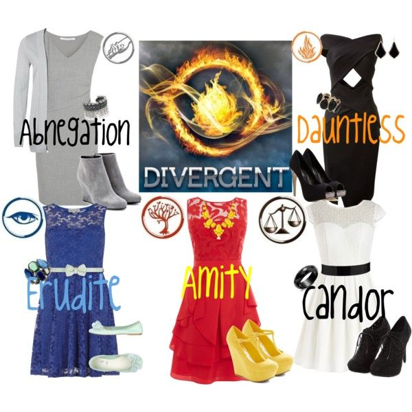 """""""Divergent Factions ((:"""" by disneychic7 on Polyvore"""