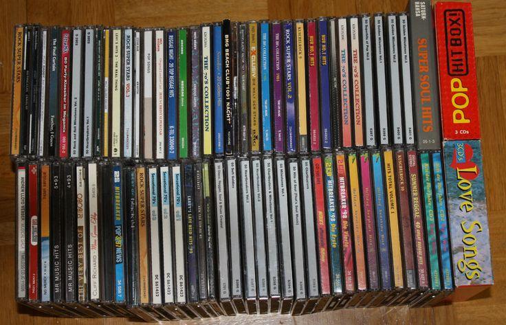 76x CDs Diverse Interpreten 2CD, Maxis, Alben, Sampler ROCK POP KLASSIK DEUTSCH