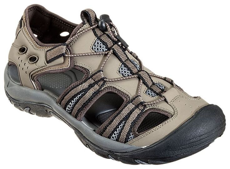 World Wide Sportsman Oasis III Water Shoes for Men - Brown/Black | Bass Pro Shops