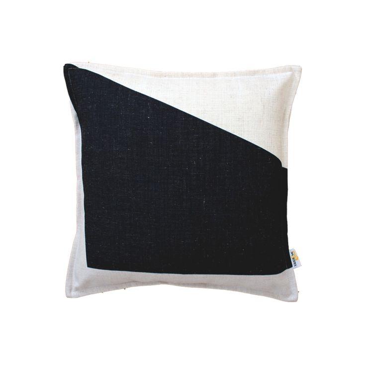 Block Cushion - Black | $125.00