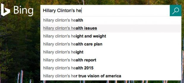 REPORT: GOOGLE CENSORS 'HILLARY CLINTON HEALTH PROBLEMS' SEARCH RESULTS