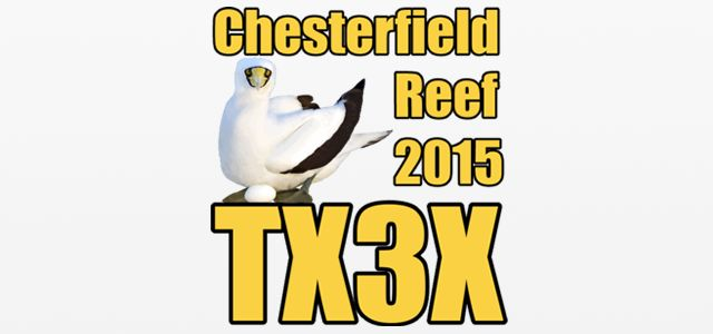 TX3X Activation DX sur les îles Chesterfield