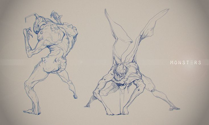 Sketches 2, Cosmin Podar on ArtStation at https://www.artstation.com/artwork/RDQNr