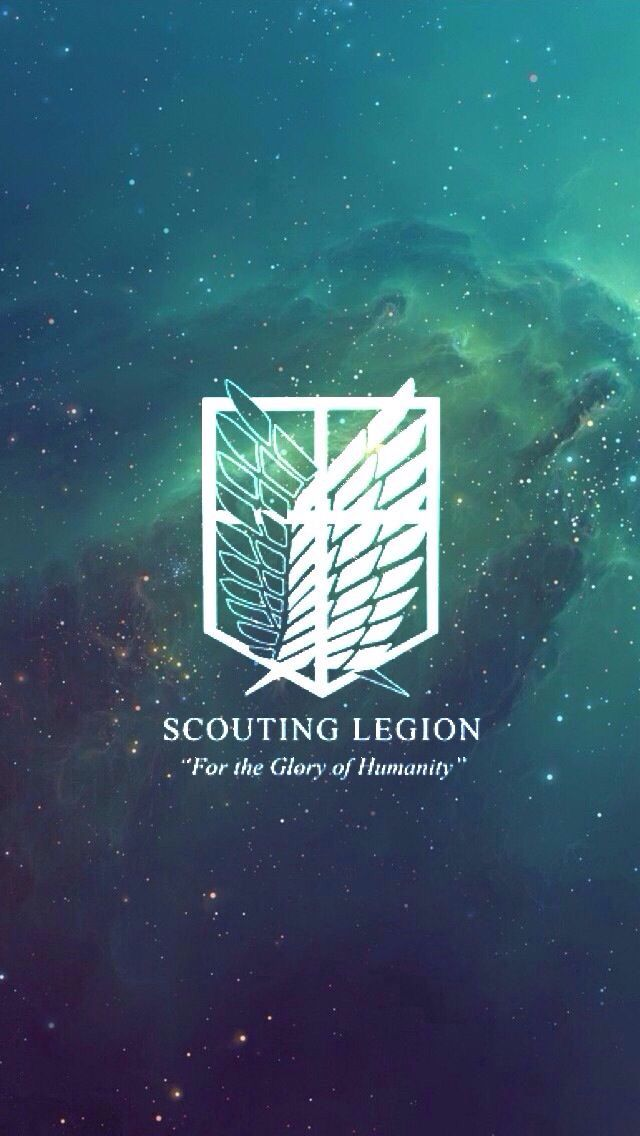"""Attack on Titan - Scouting Legion - """"For the Glory of Humanity"""""""