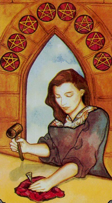 eight of pentacles tarot relationship questions