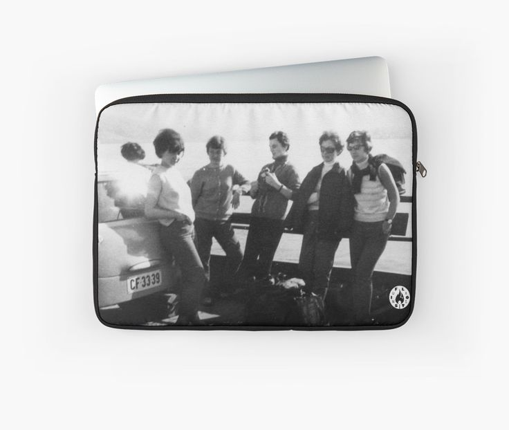 """Crossing via ferry"" Macbook sleeve by Fluxionist on Redbubble"