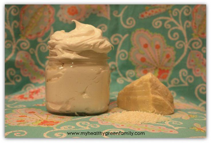 BEAUTE : Crème hydratante (2 ingrédients seulement : Beurre de cacao et huile de coco ! + HE si on veut)