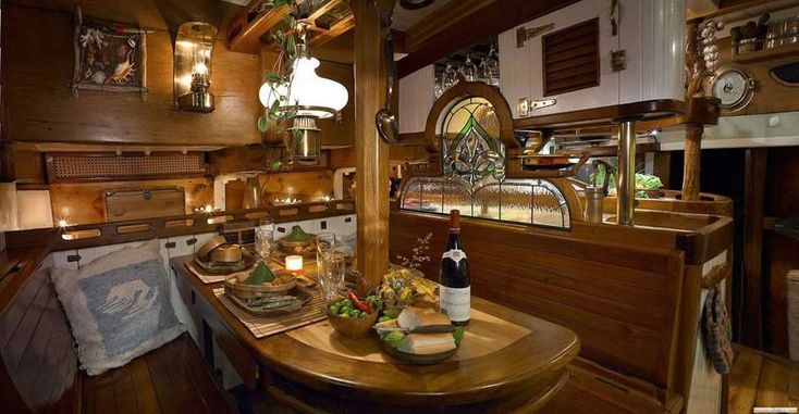 14 Best Images About Boat Interior On Pinterest