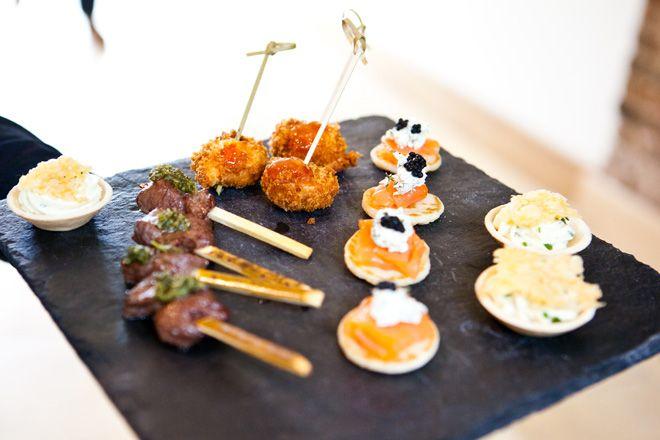 Galloping Gourmet wedding caterers at Mythe Barn #weddingvenue | byjenny.co.uk