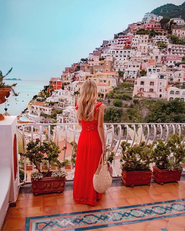 ce5fe624bee84 Farm Rio Quintana Maxi Dress in 2019 | Rome | Amalfi coast italy, Amalfi  coast, Almafi coast italy