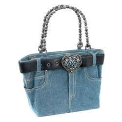 purses from blue jeans   Blue Jeans Purse - The Johnson Smith Co - Photo