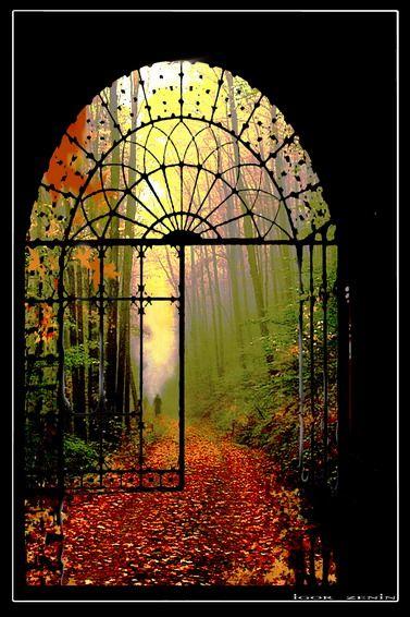 open gate, monastery, czech republic.: Doors, Secret Gardens, Paths, Walks, Wrought Irons Gates, Czech Republic, Gardens Gates,  Glasshous, Places